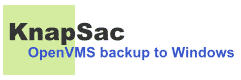 KnapSac - OpenVMS backup to windows